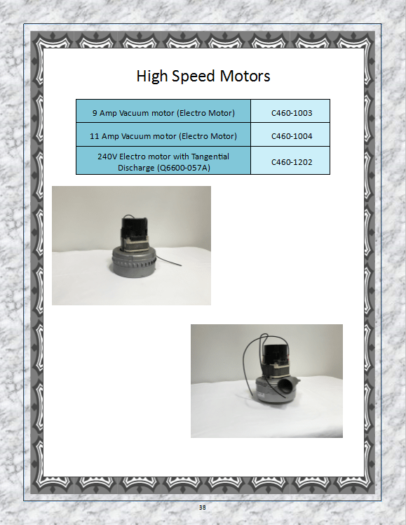 Electric motors in southern california ca on for High speed motors inc