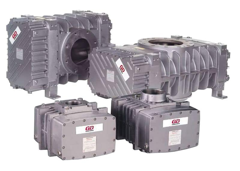 Gardner Denver Heliflow Positive Displacement Blowers & Vacuum Pumps