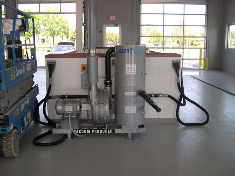 Railvac Jr. Three Phase Vacuum System